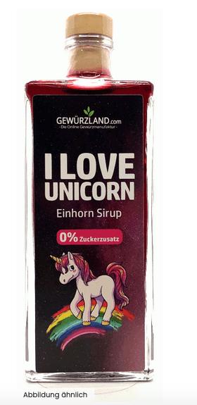 Einhorn Sirup | 0% Zuckerzusatz 6