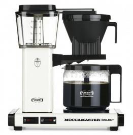 Die Moccamaster wird noch immer in den Niederlanden handgefertigt. Ihre ausgefeilte Technik sorgt für perfekt extrahiertes Kaffeearoma.