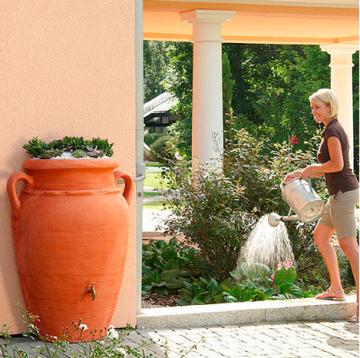 Regenwassertank Wand-Amphore