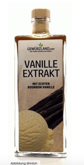 Vanille Extrakt, mit echter Bourbon-Vanille
