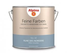 Alpina 2,5 L. Feine Farben, Nr. 14 Ruhe des Nordens, Edelmatte Wandfarbe für Innen - 1