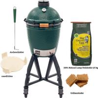 Big Green Egg Medium & Medium Starterpaket (Option: Medium Starterpaket)