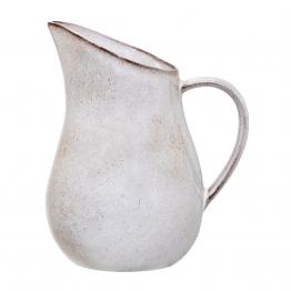 Bloomingville - Sandrine Wasserkrug 1,75 L - grau/H 15cm