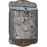 Briefkasten POST Zink Postkasten mit Brieftaube Vintage Landhausstil