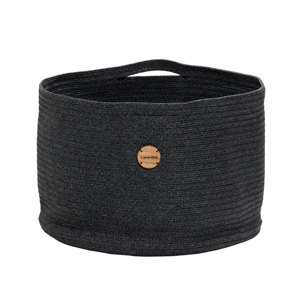 Cane-line - Soft Aufbewahrungskorb Ø 50 cm, dunkelgrau