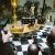 Casa Padrino Pompöös by Luxus Badewanne Deluxe freistehend von Harald Glööckler Schwarz/Silber 1695mm mit Silberfarbenen Löwenfüssen - 2