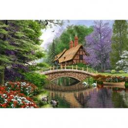 Castorland Dominic Davison: Landhaus am Fluss 1000 Teile Puzzle Castorland-102365