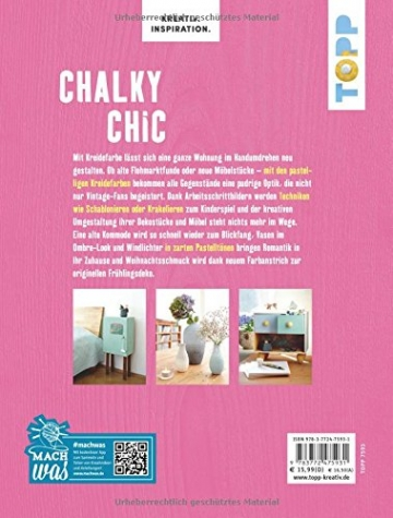 Chalky Chic (KREATIV.INSPIRATION): Wohnaccessoires gestalten mit Kreidefarbe - 2
