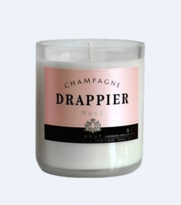 Champagne Drappier Rosé Candle