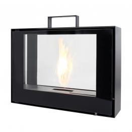 Conmoto - Travelmate Feuerstelle Tragbar - schwarz / 70x50x20cm/lackiert/inkl. Brennmittel