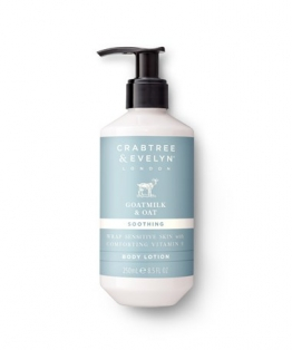 Crabtree and Evelyn Goatmilk & Oat Body Lotion 250ml