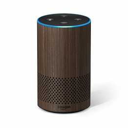 Das neue Amazon Echo (2. Generation), Nuss Optik - 1