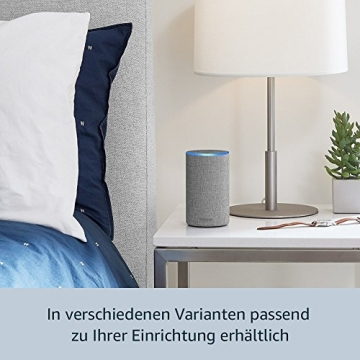 Das neue Amazon Echo (2. Generation), Nuss Optik - 5