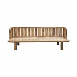 Daybed Morena aus Holz 180 x 60 x 70 cm