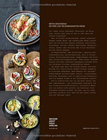 Deftig vegetarisch - schmoren, backen, braten, rösten, panieren, grillen - 2
