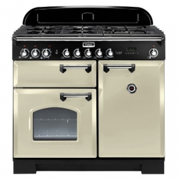 Falcon RANGECOOKER CLASSIC DELUXE 100 Farbe: Creme /chrom - Induktionskochfeld Range Cooker - 1