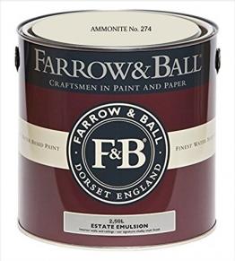 Farrow & Ball Estate Emulsion 2,5 Liter - AMMONITE No. 274 - 1