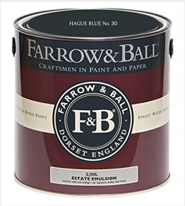 Farrow & Ball Estate Emulsion 2,5 Liter - HAGUE BLUE No. 30 - 1