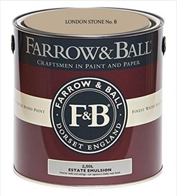 Farrow & Ball Estate Emulsion 2,5 Liter - LONDON STONE No. 6 - 1