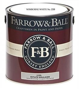 Farrow & Ball Estate Emulsion 2,5 Liter - Wimborne White No 239 - 1