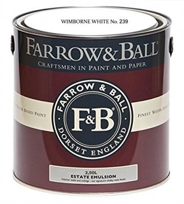 Farrow & Ball Wimborne White No 239 Estate Emulsion 2,5 Liter – -
