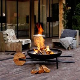 Feuerschale mit Grillfunktion BARROW