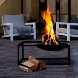 Feuerschale mit Grillfunktion SLIDE
