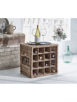 Flaschenregal Wine, Rattan
