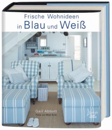 Frische Wohnideen in Blau und Weiß - 1