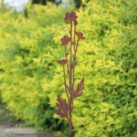 Gartenstecker 'Butterblume' 85 cm Höhe