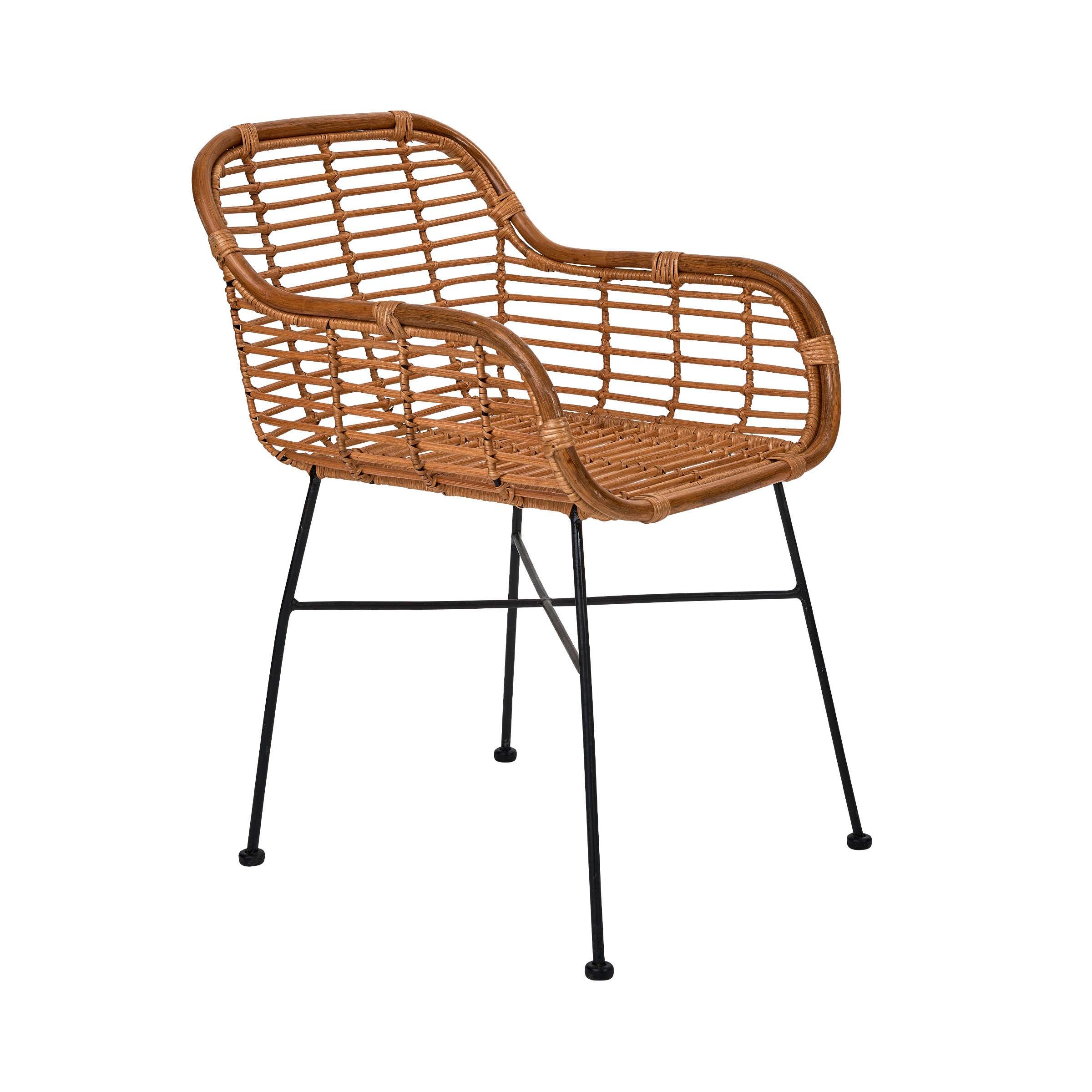HACIENDA Rattan-Sessel mit Armlehnen