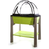 Hochbeet 'Veg & Table' grün, 80 Liter