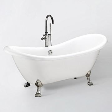 Home Deluxe freistehende Design Badewanne Fama - 2