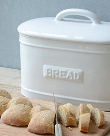 Ib Laursen Brotbox oval weiss - 2