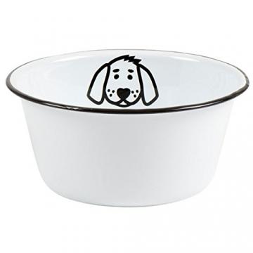 IB Laursen - Fressnapf, Hundenapf, Futternapf - für Hunde - Emaille - Ø 17 cm - 1