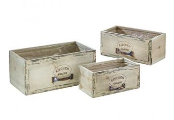Kobolo Trendige Pflanzschublade im angesagten Vintagelook - 1