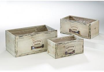 Kobolo Trendige Pflanzschublade im angesagten Vintagelook - 3