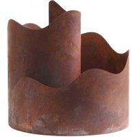 Kräuterspirale 'Toskana' aus Metall, 30 cm Durchmesser