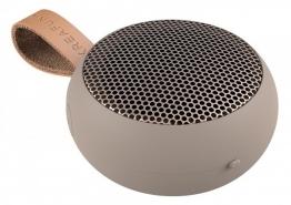 KREAFUNK aGo Ivory-Sand / Rosègold Bluetooth Lautsprecher klein tragbar USB