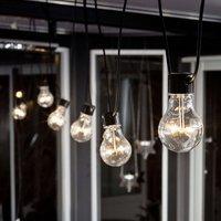 LED-Lichterkette Biergarten Birnen klar