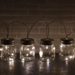 LED Lichterkette Jar String Lights