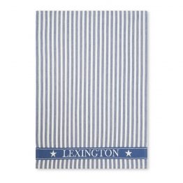 Lexington Striped Geschirrtuch 50 x 70cm blau-blau