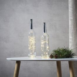 Lichterkette für Flaschen Dew Drops Batterie 200cm