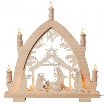 Lichterspitze Christi Geburt