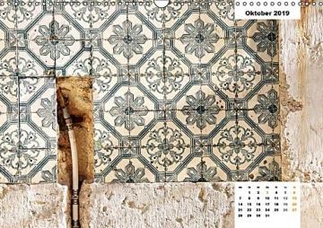 Lissabons Azulejos (Wandkalender 2019 DIN A3 quer): Die traditionellen Fliesen Portugals (Monatskalender, 14 Seiten ) (CALVENDO Orte) - 11