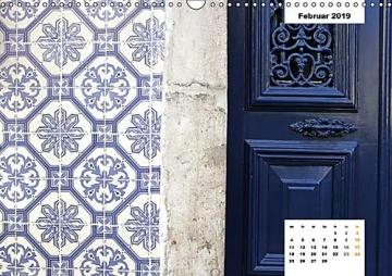 Lissabons Azulejos (Wandkalender 2019 DIN A3 quer): Die traditionellen Fliesen Portugals (Monatskalender, 14 Seiten ) (CALVENDO Orte) - 3