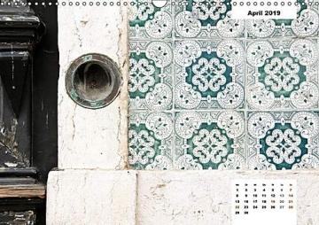 Lissabons Azulejos (Wandkalender 2019 DIN A3 quer): Die traditionellen Fliesen Portugals (Monatskalender, 14 Seiten ) (CALVENDO Orte) - 5