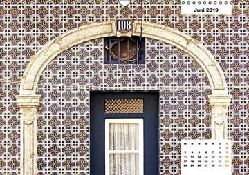 Lissabons Azulejos (Wandkalender 2019 DIN A3 quer): Die traditionellen Fliesen Portugals (Monatskalender, 14 Seiten ) (CALVENDO Orte) - 7