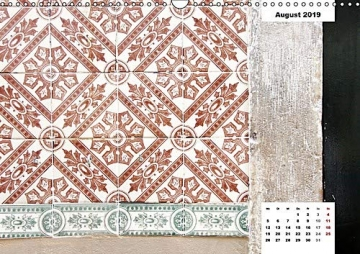 Lissabons Azulejos (Wandkalender 2019 DIN A3 quer): Die traditionellen Fliesen Portugals (Monatskalender, 14 Seiten ) (CALVENDO Orte) - 9
