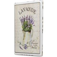 LOBERON Dekoboard Lavande, creme (1.6 x 35.5 x 45.5cm)
